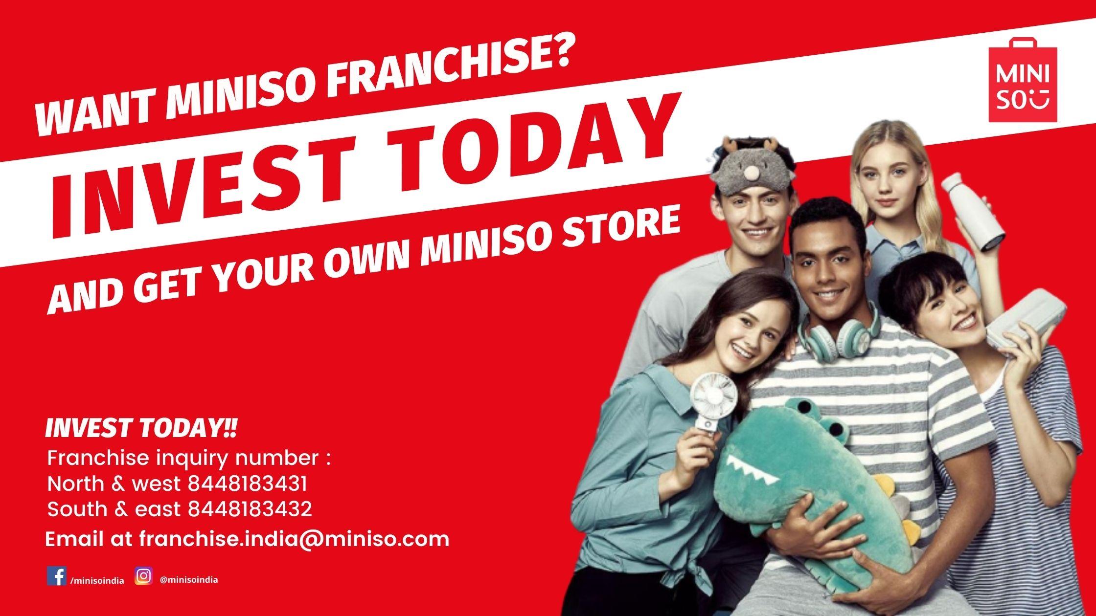 Miniso Franchise India